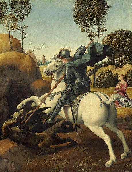 St. Jordi by Raphael