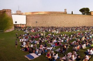 Cinema a la fresca - Montjuïc castle turns into an open-air movie theater