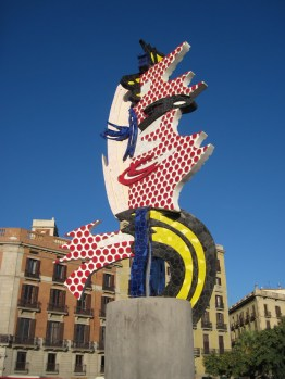 Barcelona Head by Roy Lichtenstein, 1992